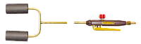 "Горелка газовоздушная типа ГВ ""ДОНМЕТ"" 252 (рычаг) 2-х факел., пропан/метан"