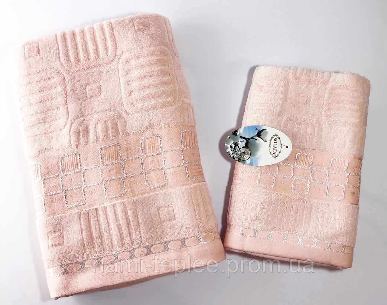 Набор полотенец Розовый