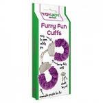 Качественные наручники Toy Joy (Голландия) Furry Fun, фиолетовые, фото 2