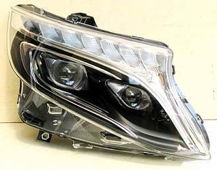 Передні фари Led оптика Mercedes W447 Vito Viano ксенон