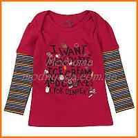 Одежда для девочек | Реглан детский для девочки