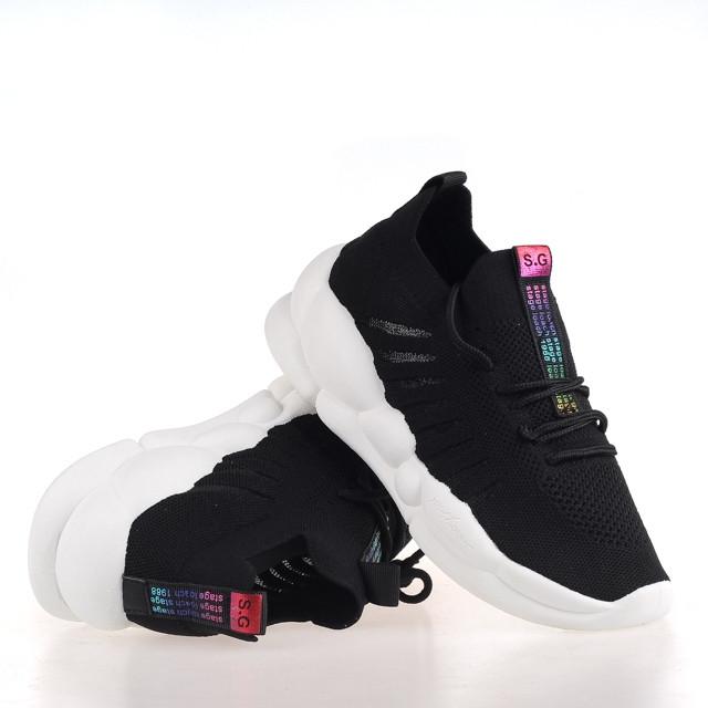 Кросівки жіночі Loris Bottega WG-J01 BLACK 2020