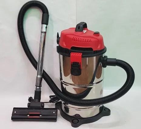 Пылесос Domotec MS-4413 профессиональный строительный для сбора воды и грязи