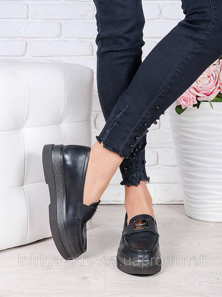 Туфли лоферы кожа Maxi 7002-28