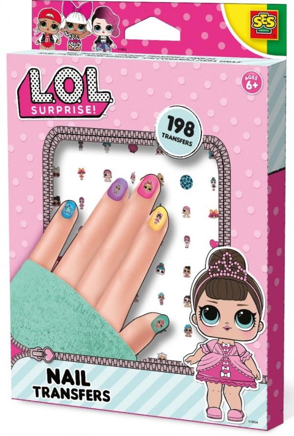 Набор наклеек для ногтей серии L.O.L Surprise! – Модный Лук