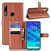 Чехол-книжка Litchie Wallet для Huawei P Smart Z Brown