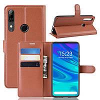 Чехол-книжка Litchie Wallet для Huawei P Smart Z Brown, фото 1