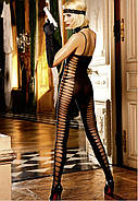 Эротический комбинезон Sheer Jacquard Bodystocking от BACI Lingerie, фото 3