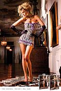 Обаятельный пеньюар Zebra Lace Tube Dress от BACI Lingerie, фото 3