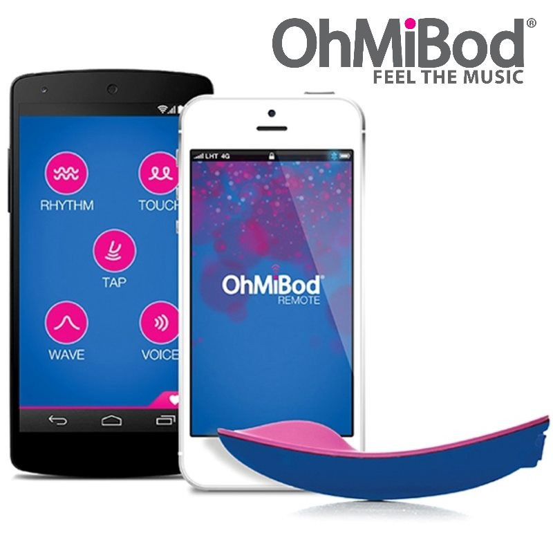 Смарт-вибратор blueMotion NEX1 от OhMiBod