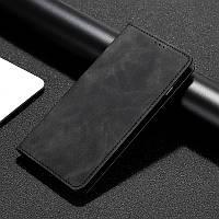 Чехол книжка с визитками для Xiaomi Redmi Note 7 Черный