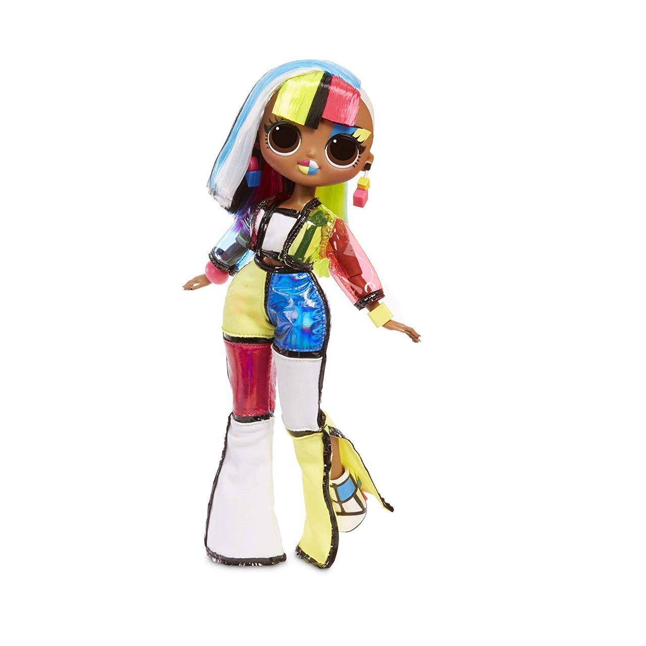 Кукла ЛОЛ Ангел Angles ОМГ светящаяся LOL сюрприз L.O.L. Surprise! O.M.G. Lights Fashion 15 Surprises