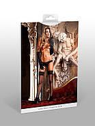 Эротические трусики стринги Lace Mesh Thong от BACI Lingerie, фото 3