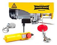 Тельфер лебедка таль електрическая DRAGON WINCH 300/600 кг