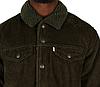 Зимняя вельветовая куртка Levis Trucker - Rosin Green (XL), фото 4