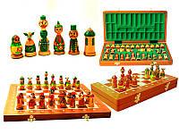 Шахматы деревянные Матрешки Intarsia