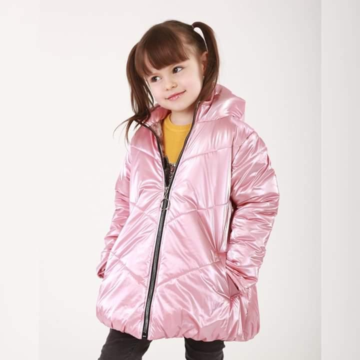 Курточка София розовый жемчуг на девочку 98-116размер