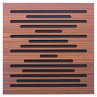 Акустическая панель Ecosound EcoWave Rosewood 50x50см 33мм цвет коричневый, фото 1