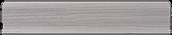 Плинтус пластиковый Lineplast L004 Ясень с кабель-каналом напольный пластиковый плинтус