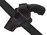 Кобура Револьвер 3 поясная Формованная (кожа, черная), фото 4