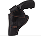 Кобура Револьвер 3 поясная Формованная (кожа, черная), фото 5