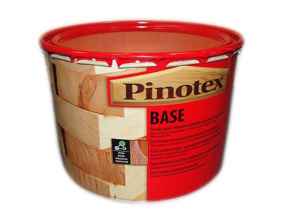 Pinotex BASE 10л Грунтовка-антисептик  , фото 2