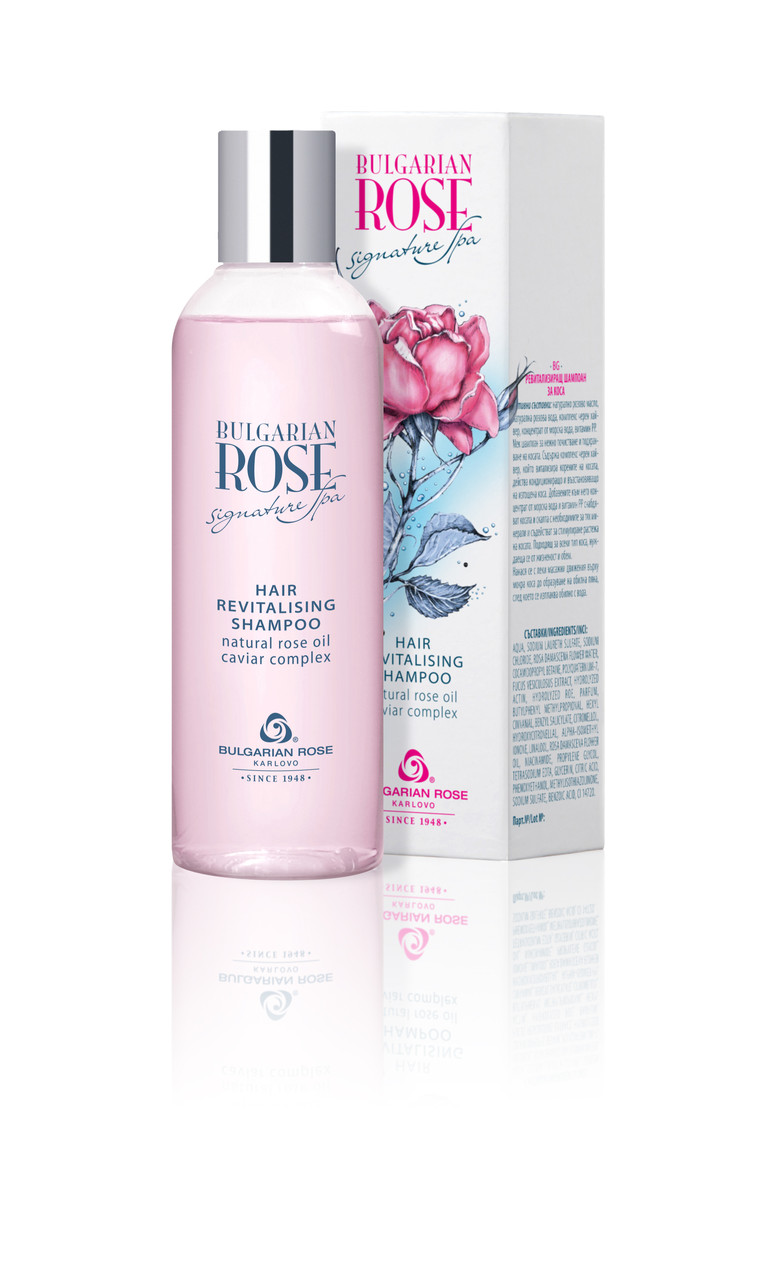 Відновлюючий шампунь Боларская Троянда Bulgarian Rose Signature Spa 200 мл