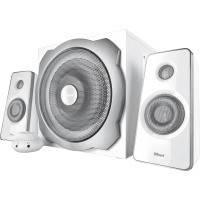 Комп.акустика trust tytan 2.1 subwoofer speaker set white