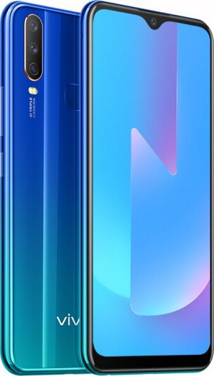 "Смартфон VIVO U3X Blue 3/32Gb, 13+8+2/8Мп, 8 ядер, 2sim, экран 6.35"" IPS, 5000mAh, Snapdragon 665, 4G"