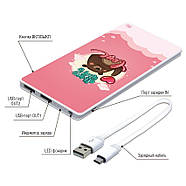 Универсальная мобильная батарея All You Need Is Love, 7500 мАч (E189-54), фото 4