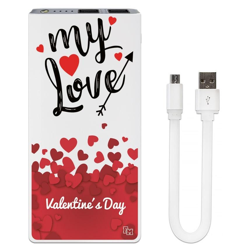 Мобильный аккумулятор My Love, 7500 мАч (E189-58)