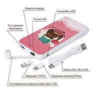 Дополнительный универсальный аккумулятор All You Need Is Love, 10000 мАч (E510-54), фото 4