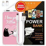 Портативный аккумулятор Kitten, 10000 мАч (E510-56), фото 6