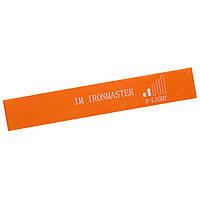 Лента-эспандер для фитнеса Iron Master 600x50x0,6 оранжевый