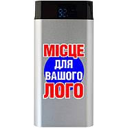 Power Bank металлический 17600 mAh серебро под брендирование (Е242-17600), фото 7