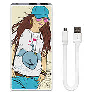 Универсальная батарея Fashion Girl, 7500 мАч (E189-11), фото 2