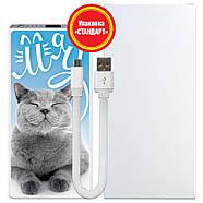 Дополнительный универсальный аккумулятор Хитрый кот, 7500 мАч (E189-18), фото 5
