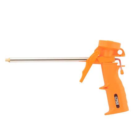 Пистолет для полиуретановой пены пластиковый корпус Grad (2722225), фото 2