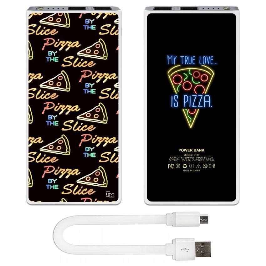 Дополнительная мобильная батарея Pizza, 7500 мАч (E189-30)