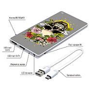 Мобильное зарядное устройство Череп, 7500 мАч (E189-31), фото 3