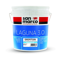 San Marco Laguna 3.0 14л Паропроницаемая, водостойкая краска на акриловой основе Сан Марко Лагуна 3.0