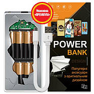 Power Bank (повербанк) с принтом Внутри, 7500 мАч (E189-37), фото 6