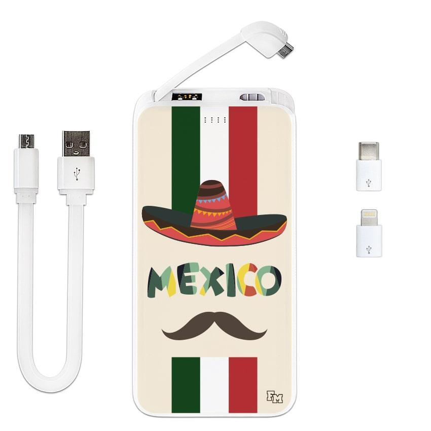 Универсальная мобильная батарея Мексиканец, 10000 мАч (E510-08)