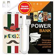 Универсальная мобильная батарея Мексиканец, 10000 мАч (E510-08), фото 6