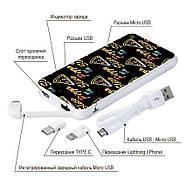 Додаткова мобільна батарея Pizza, 10000 мАч (E510-30), фото 4