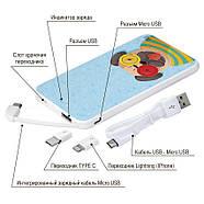Мобільний зарядний пристрій Веселий Монстр, 5000 мАч (E505-15), фото 4