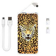 Портативний зарядний пристрій Леопард, 5000 мАч (E505-19), фото 3