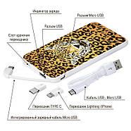 Портативний зарядний пристрій Леопард, 5000 мАч (E505-19), фото 4