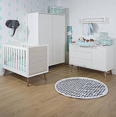 Коллекция детской мебели CHILDHOME RETRO RIO WHITE