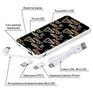 Дополнительная мобильная батарея Pizza, 5000 мАч (E505-30), фото 4